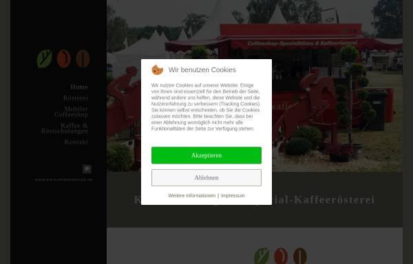 Vorschau von www.die-kaffeekirsche.de, Die Kaffeekirsche - Thorsten Graue