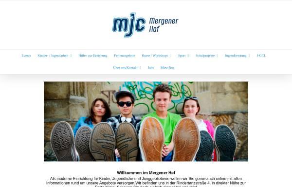 Vorschau von www.mjctrier.de, Mergener Hof e.V. (MJC von 1617)