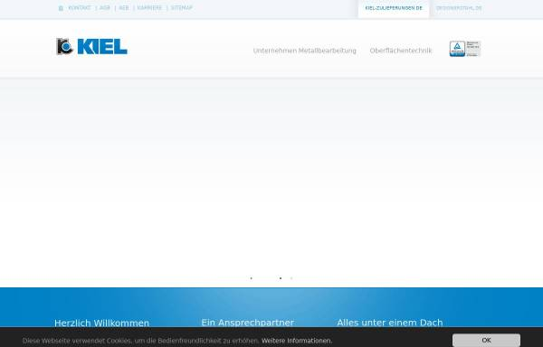 Vorschau von www.kiel-zulieferungen.de, KIEL Zulieferungen GmbH