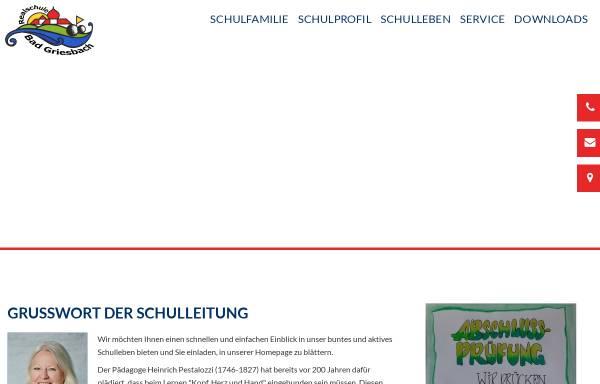 Vorschau von www.rsgriesbach.de, Web der Realschule Bad Griesbach