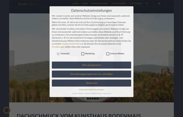Vorschau von www.dachschmuck-shop.de, Kunsthaus Bodenmais, Erich Ebnet