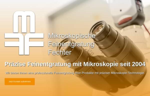 Vorschau von www.mikroskopische-feinentgratung.de, Mikroskopische Feinentgratung Fechter, Inh. Anita Fechter