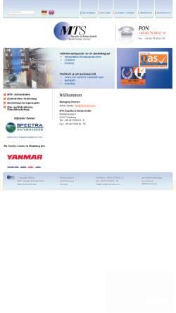 Vorschau der mobilen Webseite www.mts-insitu.com, MTS - Kasulke & Rohde GmbH