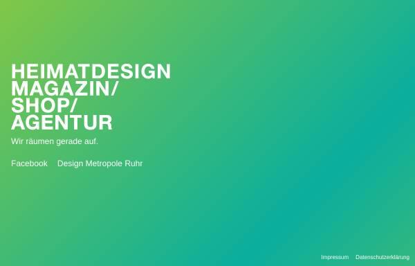 Vorschau von www.heimatdesign.de, Heimatdesign - Magazin, Shop + Agentur