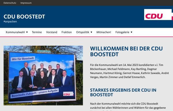 Vorschau von www.cdu-boostedt.de, CDU Ortsverband Boostedt