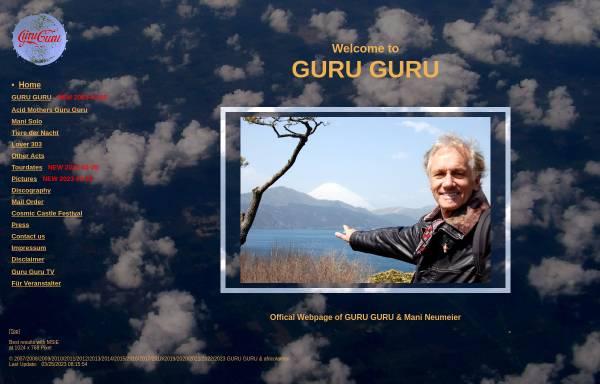 Vorschau von mani-neumeier.de, Neumeier, Mani - Drummer von Guru Guru