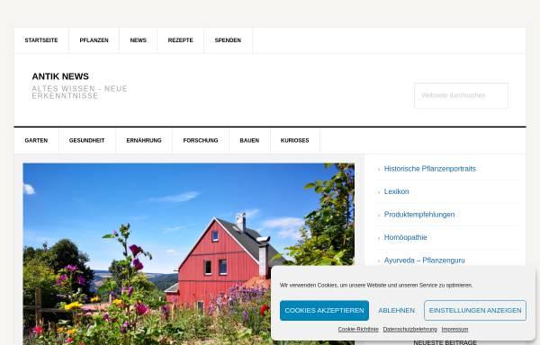 Vorschau von heilpflanzenkatalog.net, Heilpflanzen aus aller Welt