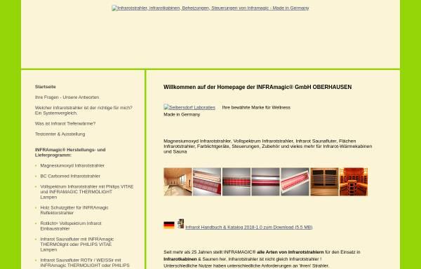 Vorschau von www.inframagic.de, Inframagic GmbH