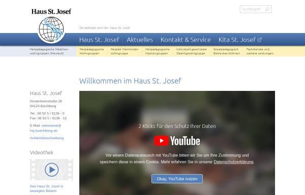 Vorschau von www.hsj-buechlberg.de, Haus St. Josef