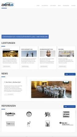 Vorschau der mobilen Webseite www.axentus.de, DJ- und Eventagentur Axentus
