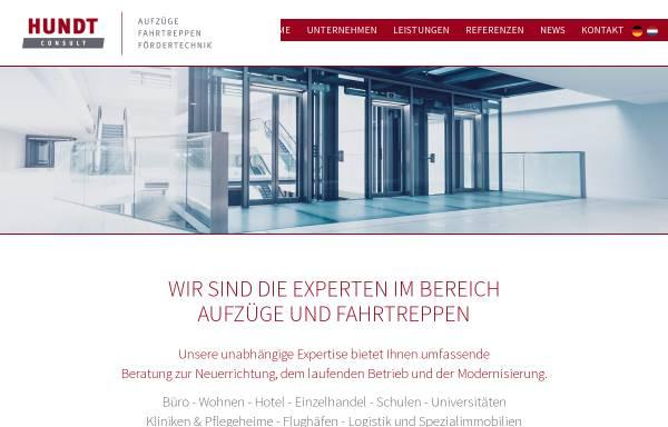 Vorschau von www.hundt-consult.de, Hundt Consult GmbH