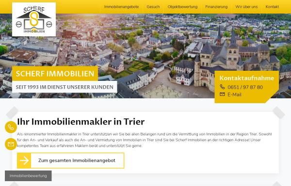 Vorschau von www.scherf-immobilien.de, Scherf Profi Immobilien Service GmbH