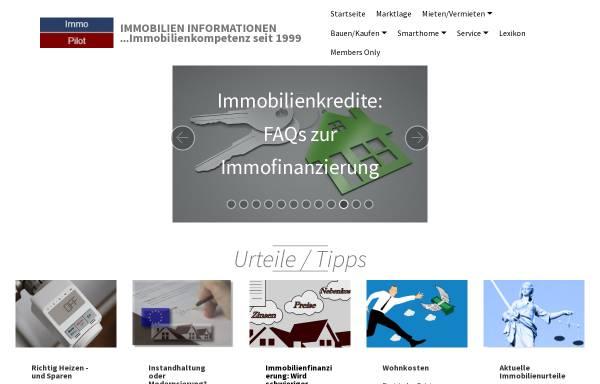 Vorschau von www.immopilot.de, Immobilienlexikon