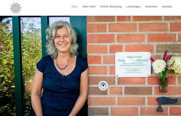 Vorschau von www.gestalttherapie-ziebell.de, Praxis für Gestalttherapie Cordula Ziebell