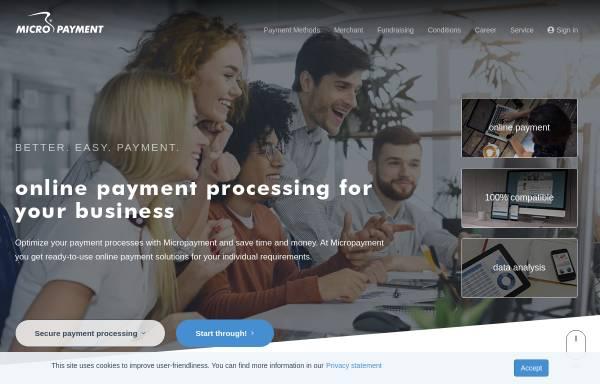 Vorschau von www.micropayment.de, Micropayment GmbH