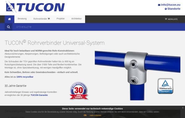 Vorschau von www.tucon.at, Tucon-Verbindungstechnik