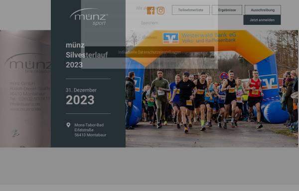 Vorschau von www.muenz-sportkonzept.de, Münz Silvesterlauf