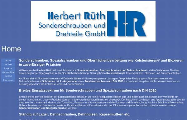 Vorschau von www.herbertrueth.de, Herbert Rüth GmbH