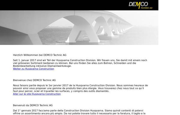 Vorschau von www.demco.ch, Demco Technic AG