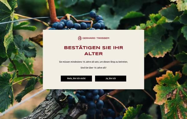 Vorschau von www.weingut-trossen-kroev.de, Ferienweingut Gerhard und Christel Trossen