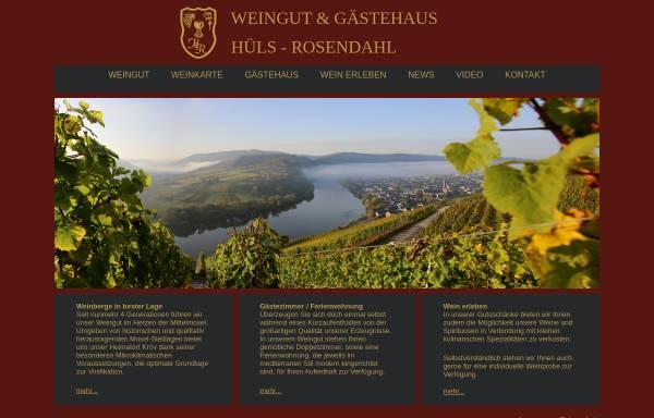 Vorschau von www.huels-wein.de, Weingut Herbert Hüls-Rosendahl