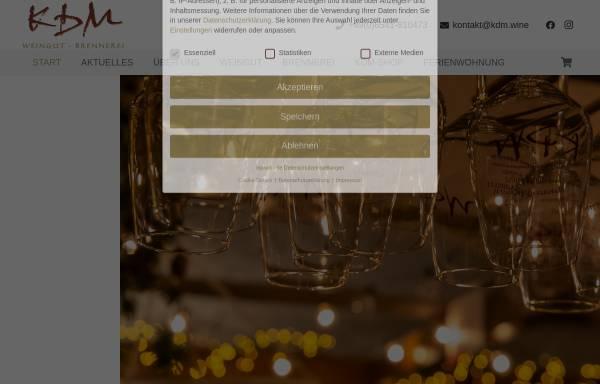 Vorschau von www.moselwein-ambiente.de, Weingut-Brennerei Detlef Müllers