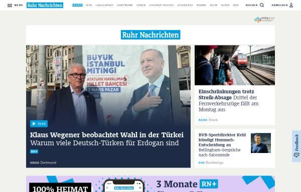 Vorschau von www.ruhrnachrichten.de, RuhrNachrichten.de