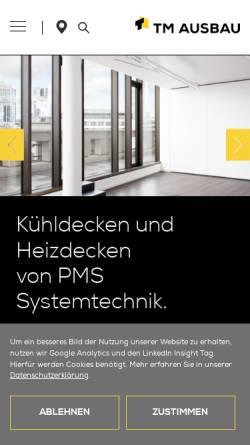 Vorschau der mobilen Webseite climatt.tm-gruppe.eu, PMS Systemtechnik GmbH