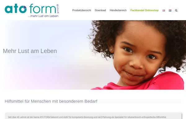 Vorschau von www.ato-form.com, Ato Form GmbH