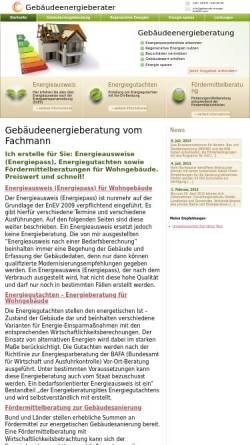 Vorschau der mobilen Webseite www.gebaeude-energie-berater.com, Töpp, Hans-Dieter