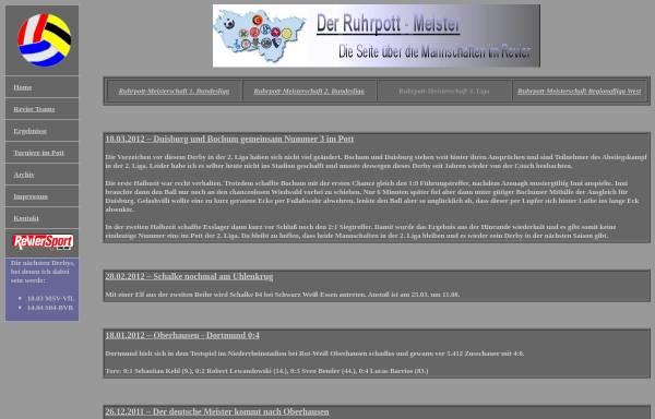 Vorschau von www.ruhrpott-meister.de, Der Ruhrpott-Meister