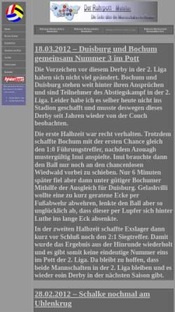 Vorschau der mobilen Webseite www.ruhrpott-meister.de, Der Ruhrpott-Meister