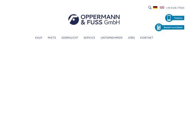 Vorschau von www.oppermann-fuss.de, Oppermann & Fuss GmbH