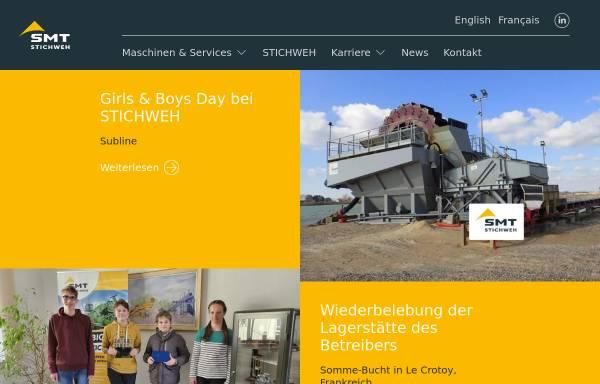Vorschau von www.smt-stichweh.de, Stichweh Maschinen & Service GmbH