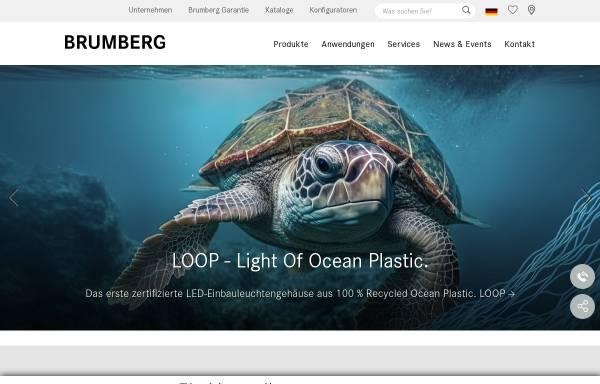 Vorschau von www.brumberg.com, Brumberg Leuchten GmbH & Co. KG