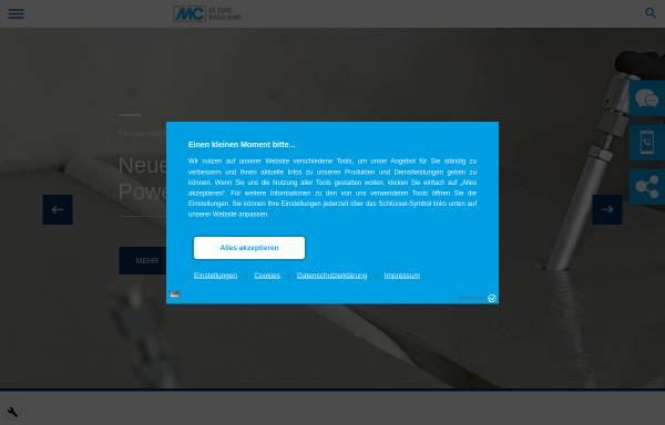 Vorschau von www.mc-bauchemie.de, MC-Bauchemie Müller GmbH + Co. KG