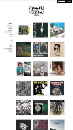 Vorschau der mobilen Webseite www.hectic-society-records.com, Hectic Society Records