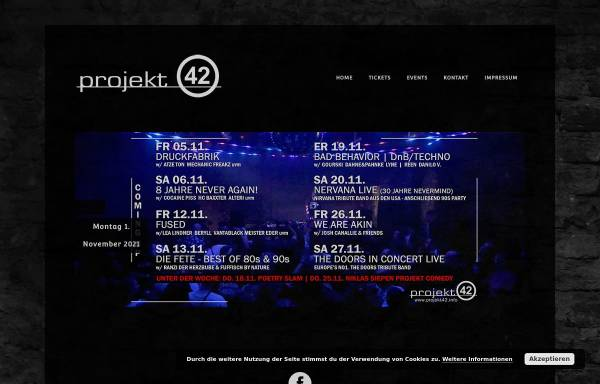 Vorschau von www.projekt42.info, Projekt 42