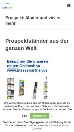 Vorschau der mobilen Webseite www.starexpo.de, Star Expo Ltd.