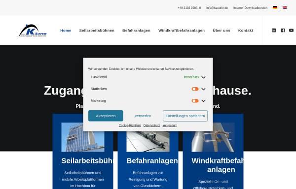 Vorschau von www.kaeufer.de, Gebr. Käufer GmbH