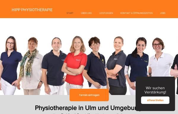 Vorschau von www.hipp-physiotherapie.de, Hipp Physiotherapie