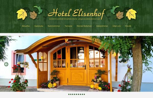 Vorschau von www.hotel-elisenhof.de, Hotel-Restaurant Elisenhof