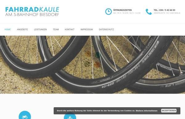 Vorschau von www.fahrrad-kaule.de, Fahrrad Kaule