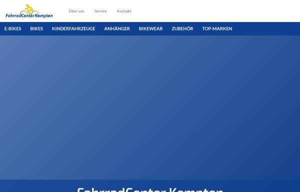 Vorschau von www.fahrradcenter.net, Fahrradcenter Kempten