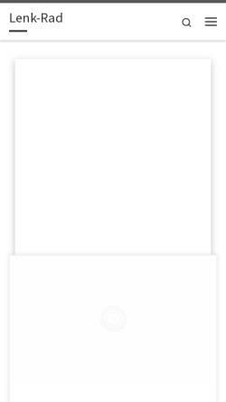 Vorschau der mobilen Webseite www.lenk-rad.de, Lenk-Rad, Werner Lenk