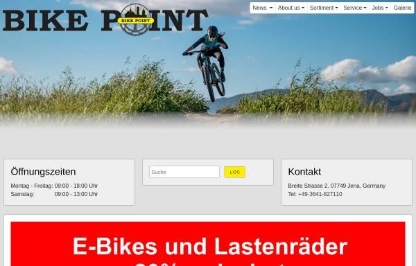 Vorschau von www.bike-point-jena.de, Bike Point Jena, Peter Michalak e. K.