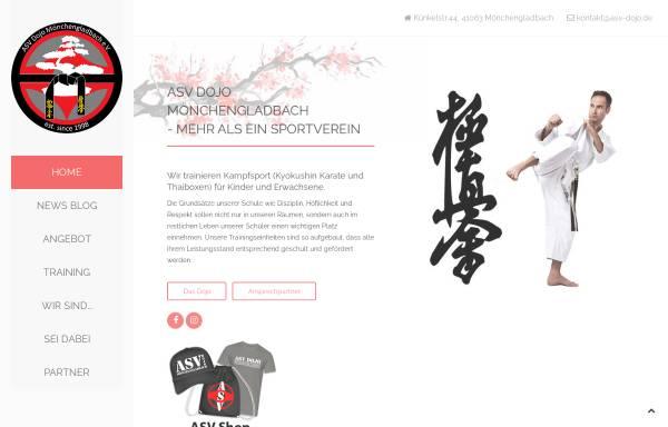Vorschau von www.asv-dojo.de, Dojo Asiatische Körperschulung