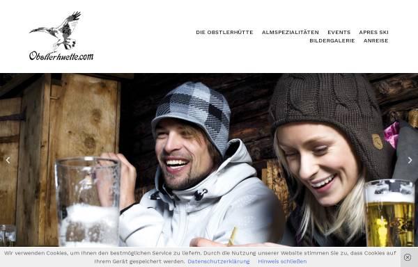 Vorschau von obstlerhuette.com, Eugens Obstlerhuette