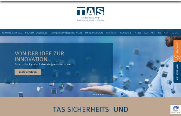 Vorschau von www.tas.de, TAS Telefonbau Arthur Schwabe GmbH & Co. KG