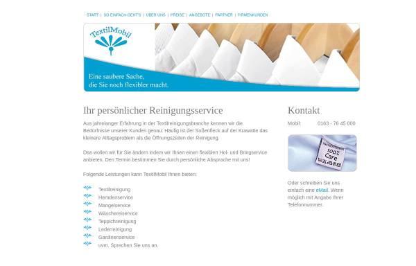 Vorschau von textilmobil-wiesbaden.de, Textilmobil